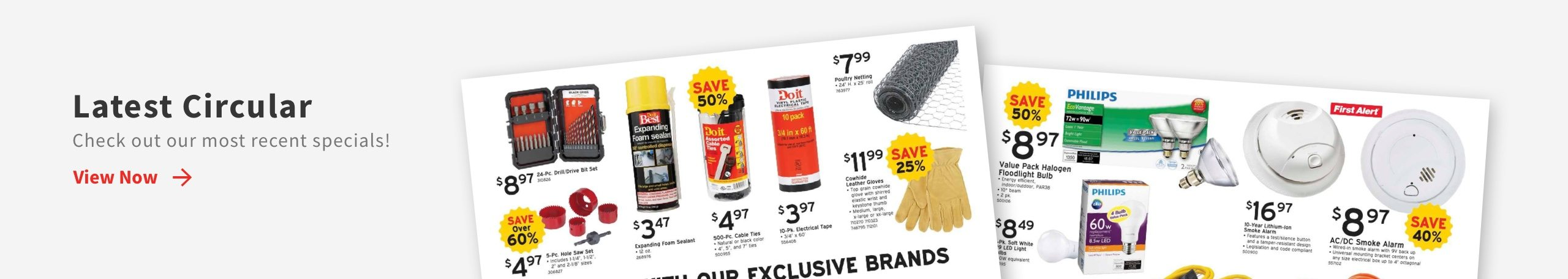 Download This month's ad from Fischers Do It Best Hardware