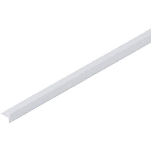 Crane Sequentia 8 Ft. White FRP Outside Corner Molding