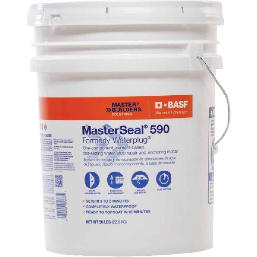 MasterSeal 590 50 Lb. Hydraulic Cement