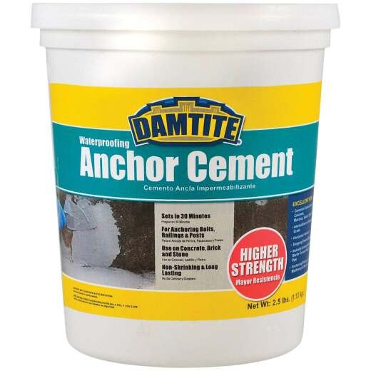 Damtite 2-1/2 Lb. Waterproofing Anchor Cement