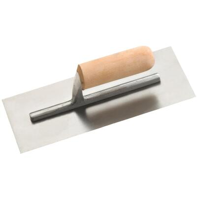 Do it 4-1/2 In. x 11 In. Finishing Trowel with Basswood Handle