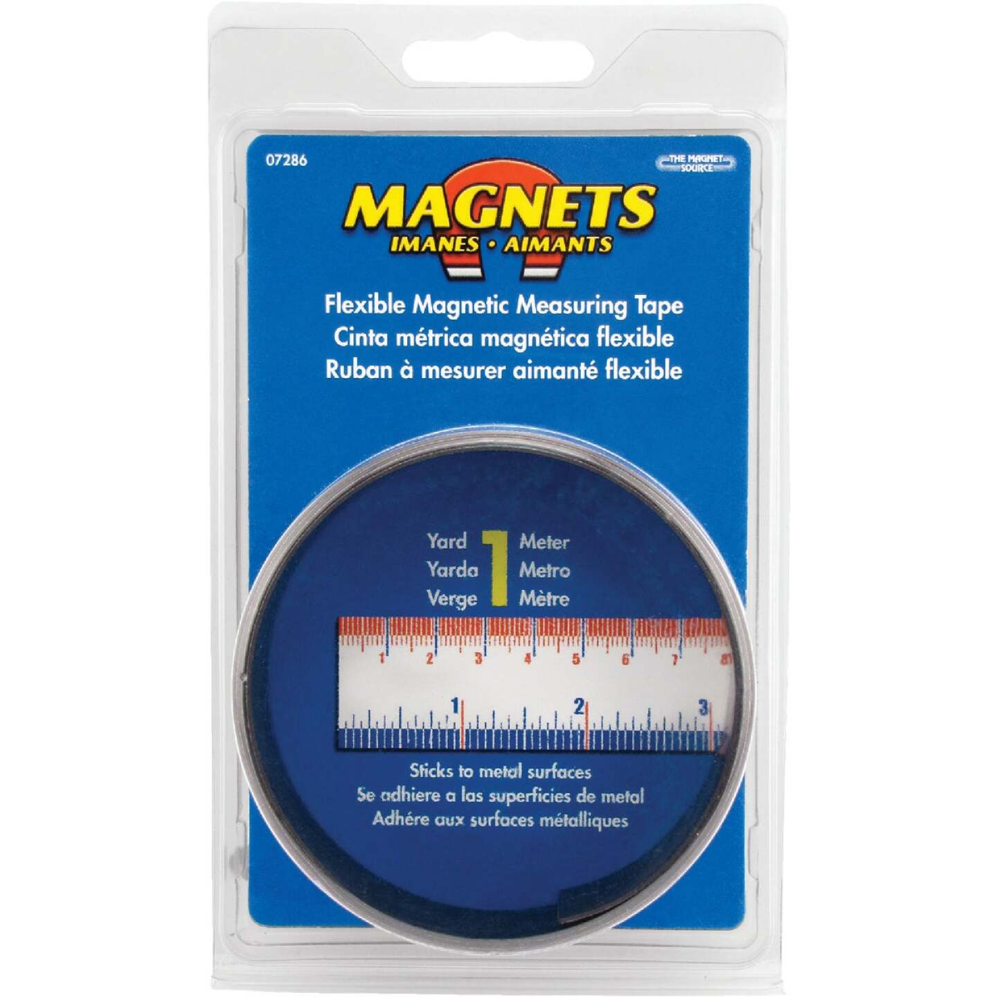 Master Magnetics 3 Ft. Flexible Measuring Tape Image 2