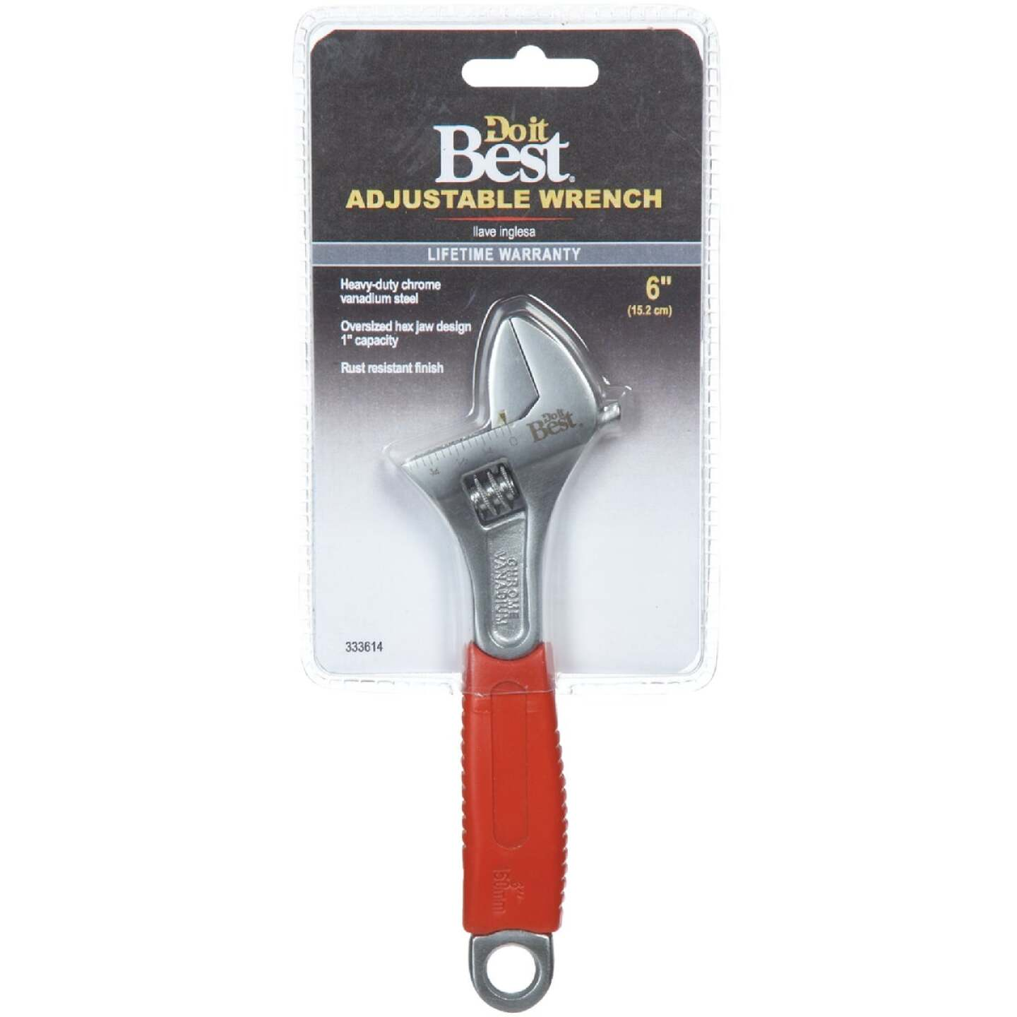 Do it Best 6 In. Adjustable Wrench Image 2