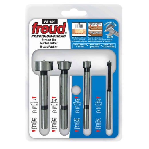 Freud Forstner Bit Set (4-Pieces)