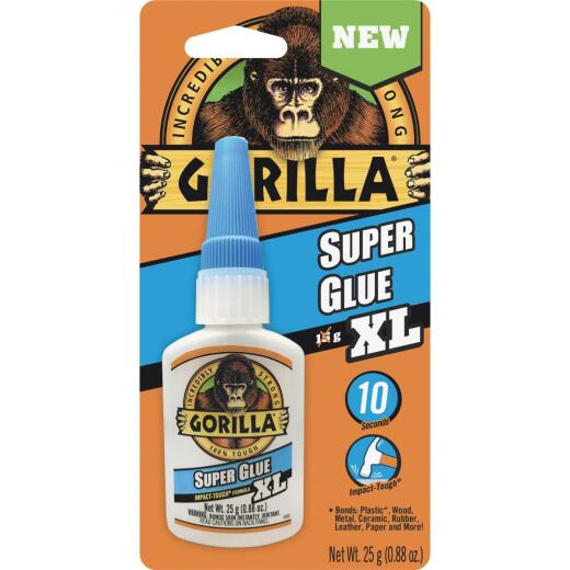 Gorilla 0.88 Oz. Super Glue XL
