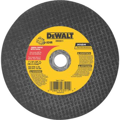 DeWalt HP Type 1, Cut-Off Wheel