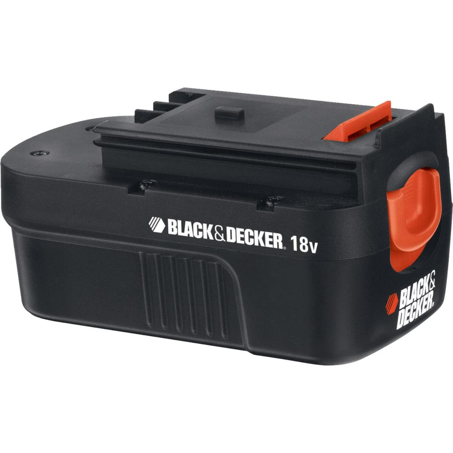 Black & Decker 18 Volt Nickel-Cadmium 1.5 Ah Spring-Loaded Slide Tool Battery Image 1