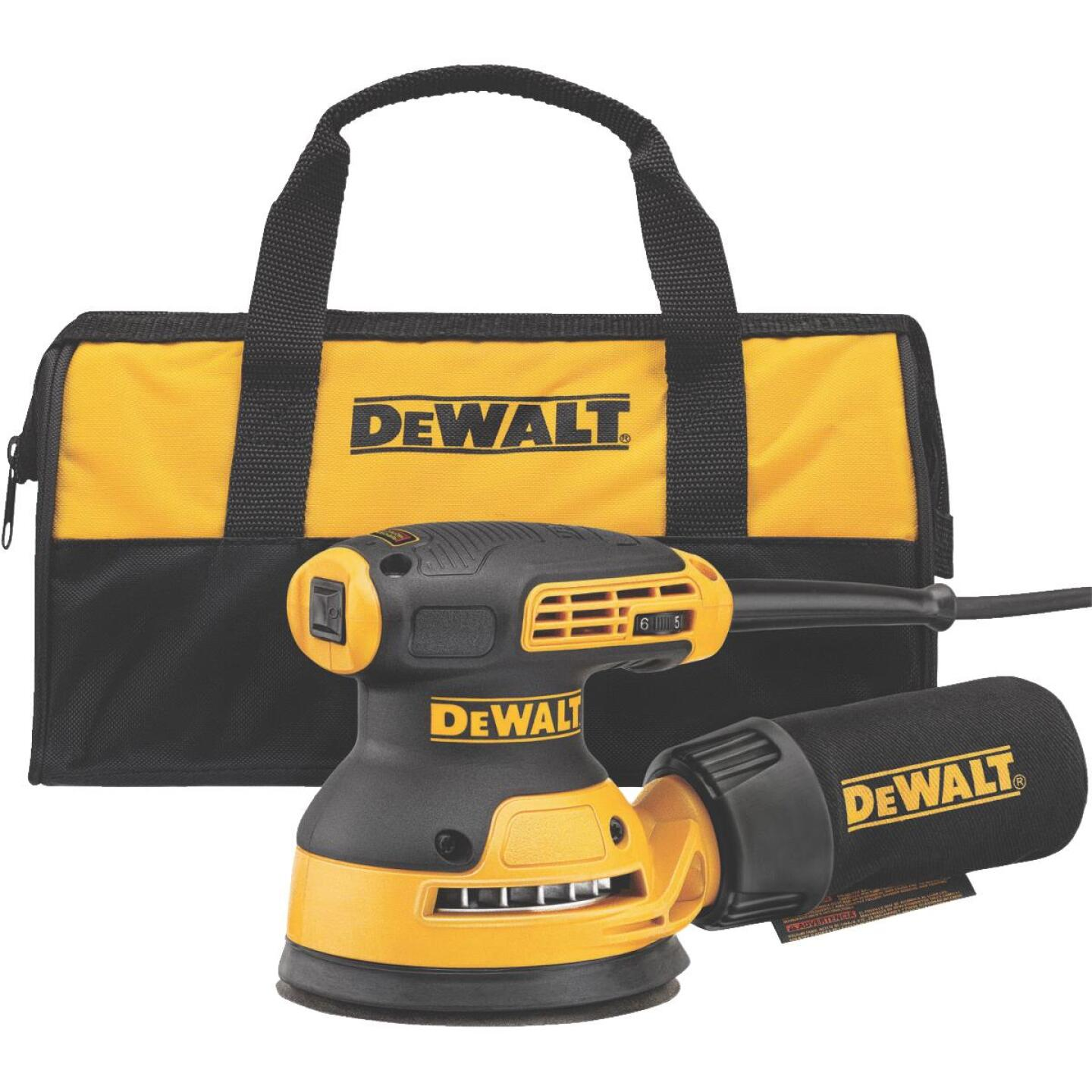 DeWalt 5 In. 3.0A Finish Sander Image 1