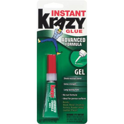 Krazy Glue 0.14 Oz. Maximum Bond Super Glue Gel