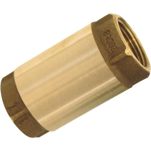 Simmons 2 In. Bronze Female Thread Check Valve