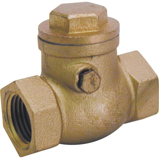 ProLine 1-1/2 In. Brass Swing Check Valve