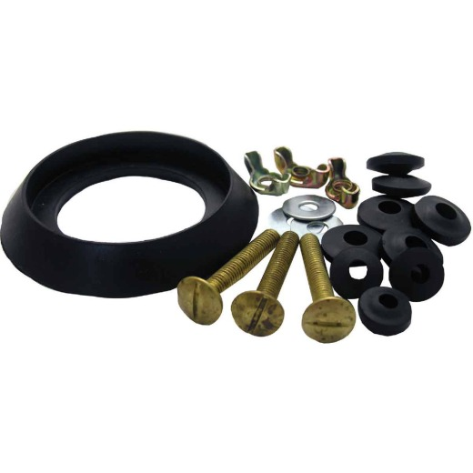 Lasco Kohler Tank To Bowl 3 Bolt Set with Rubber Washer