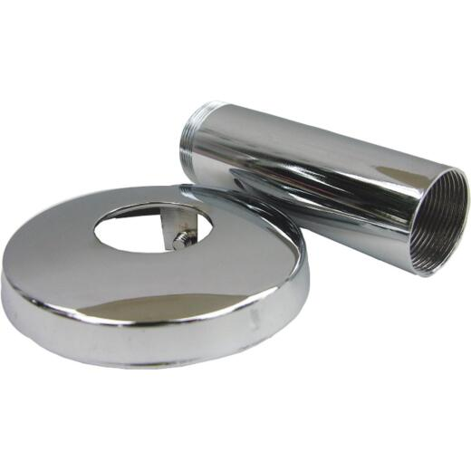 Lasco 1 In. Chrome Flange