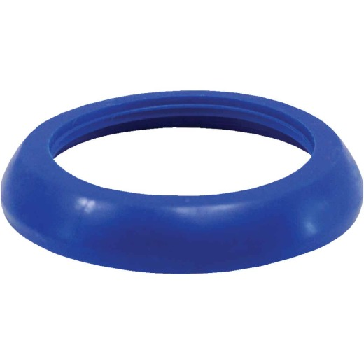 Jones Stephens 1-1/2 In. x 1-1/4 In. Blue Polyethylene Slip Joint Washer (100 Pack)