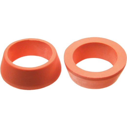 Danco 13/16 In. x 19/32 In. Orange Rubber Slip Joint Washer