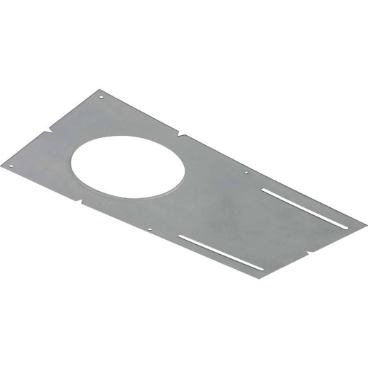 Liteline 6-1/2 In. W. x 13-1/4 In. L. Steel Recessed Light Pre-Mounting Plate