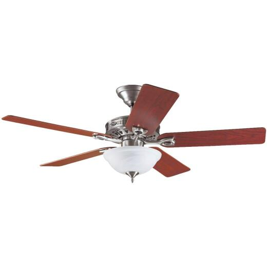 Hunter Astoria 52 In. Brushed Nickel Ceiling Fan with Light Kit