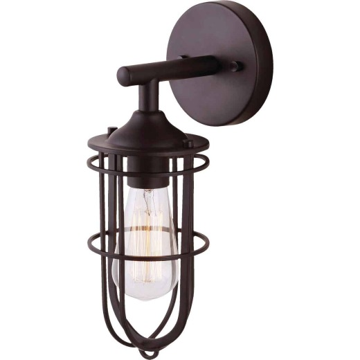 Home Impressions Indus 1-Bulb Oil Rubbed Bronze Wall Light Fixture