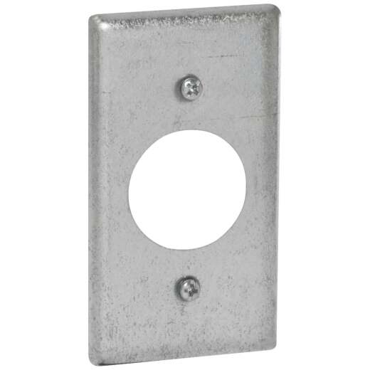 Raco Single Receptacle 4 In. x 2-1/8 In. Handy Box Cover