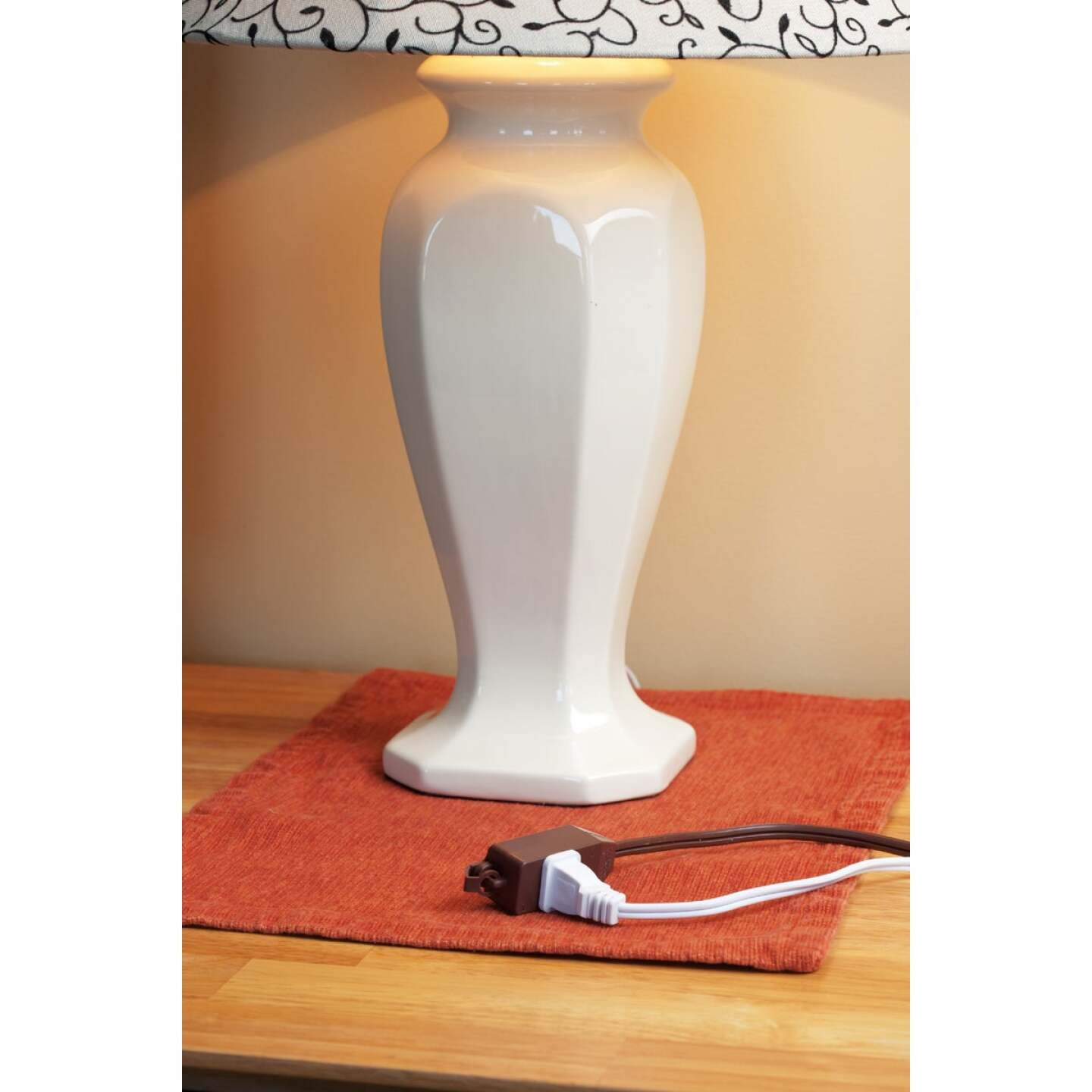 Do it Best 9 Ft. 16/2 Brown Cube Tap Extension Cord Image 3