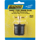 Seachoice 1-1/4 In. Twist Brass Drain Plug Image 2