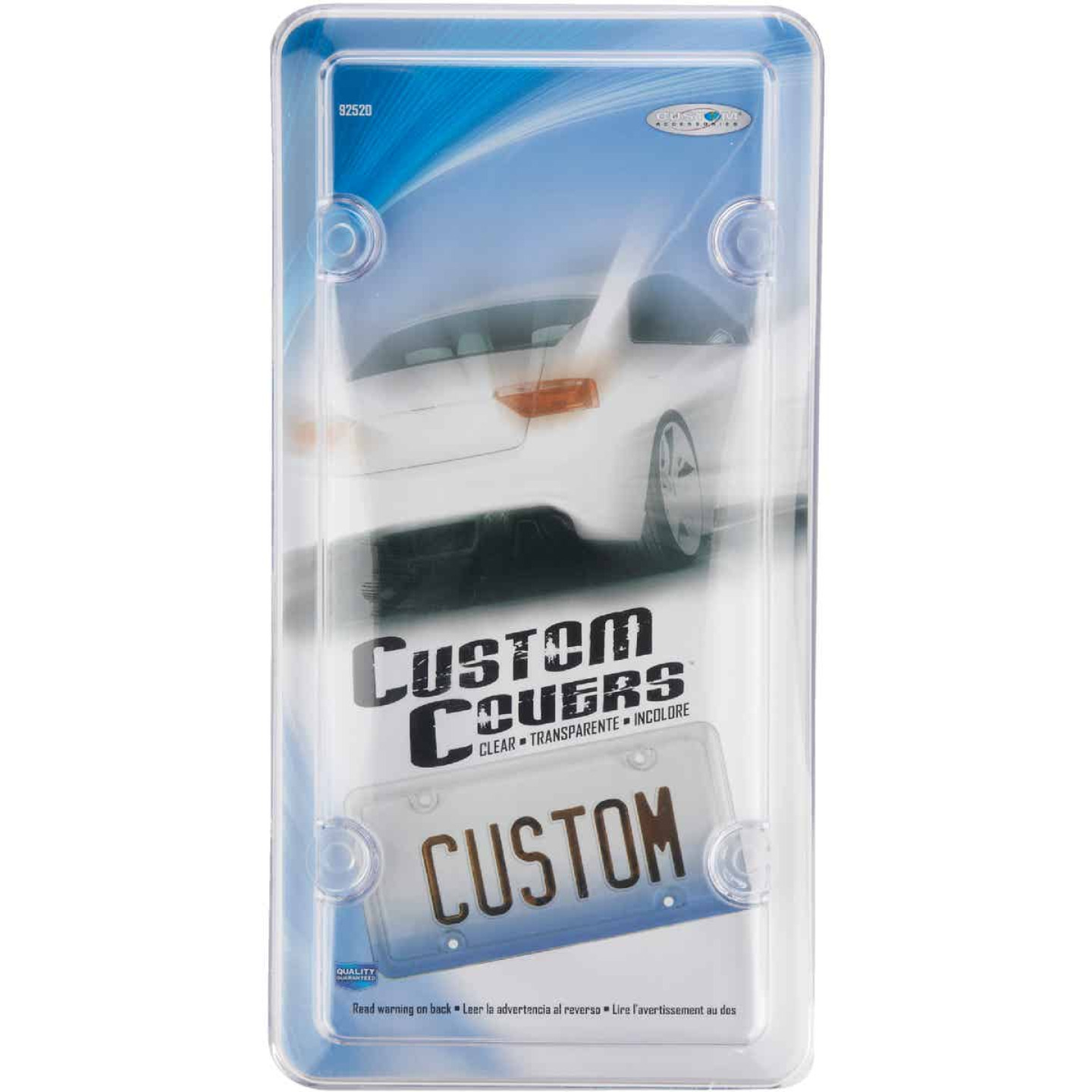 Custom Accessories License Plate Protector Image 2