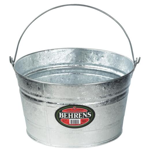 Behrens 4.25 Gal. Hot-Dipped Steel Pail