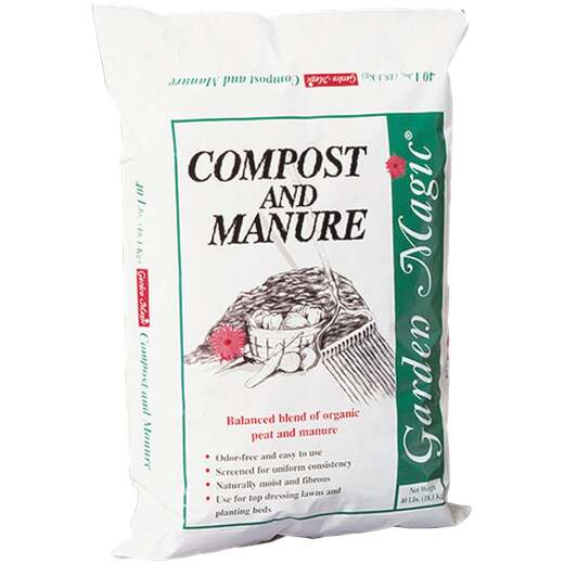 Garden Magic 40 Lb. 4 Sq. Ft. Cow Manure