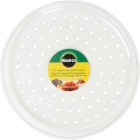 Miracle-Gro 12 In. Clear Plastic Flower Pot Saucer Image 2