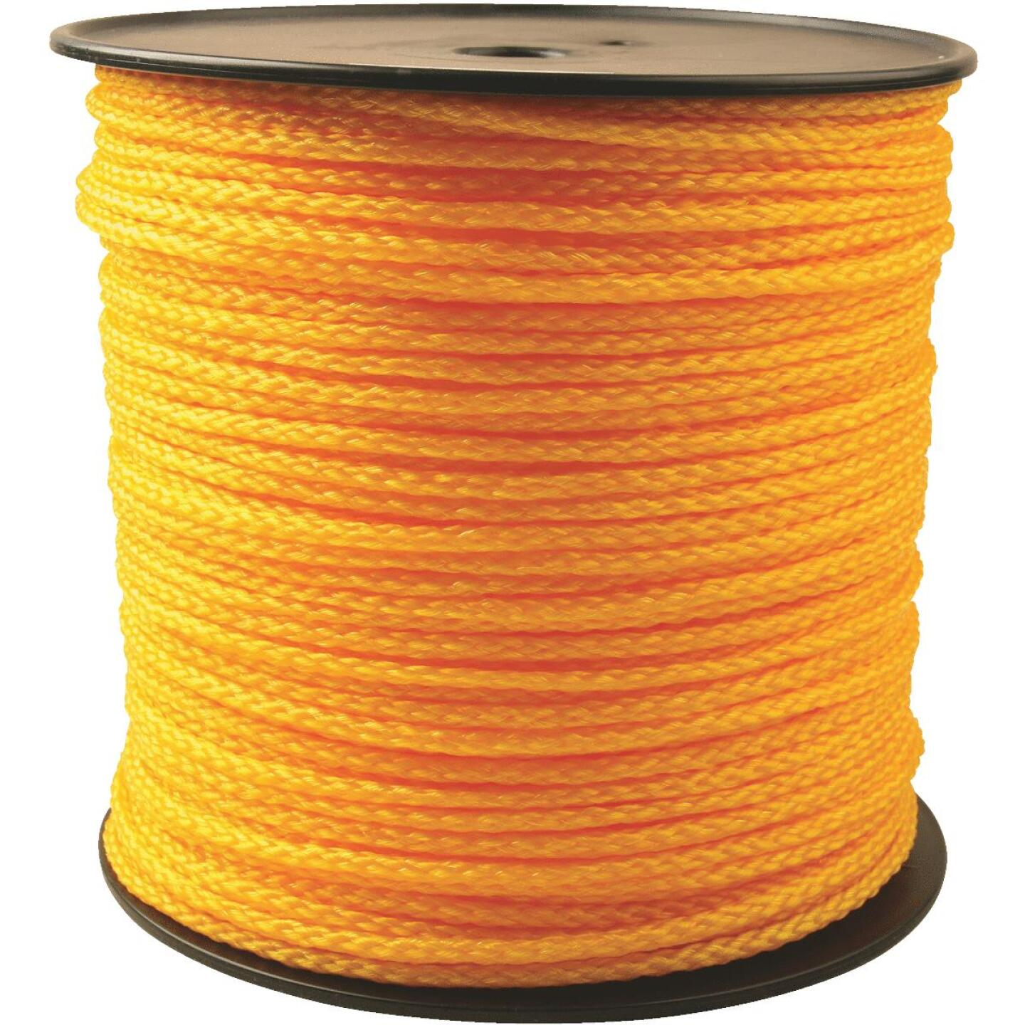 Do it 1/4 In. x 1000 Ft. Yellow Braided Polypropylene Rope Image 1