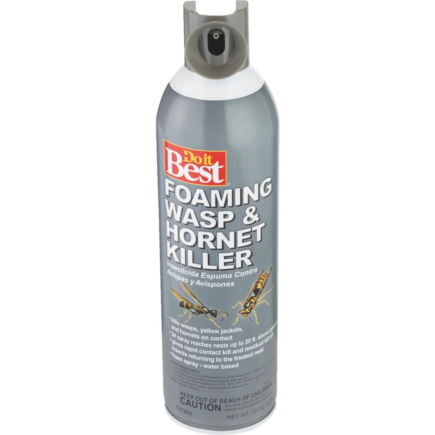 Do it Best 17.5 Oz. Foaming Aerosol Spray Wasp & Hornet Killer Image 3