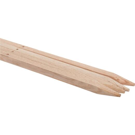 Madison Mill 48 In. Oak Wood Plant Stake (4-Pack)