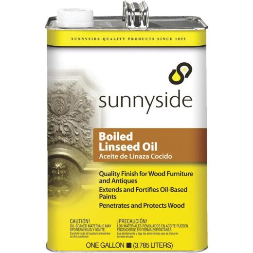 Sunnyside Boiled Linseed Oil, 1 Gal.