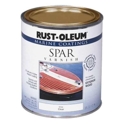 Rust-Oleum Gloss Marine Spar Exterior Varnish, Quart