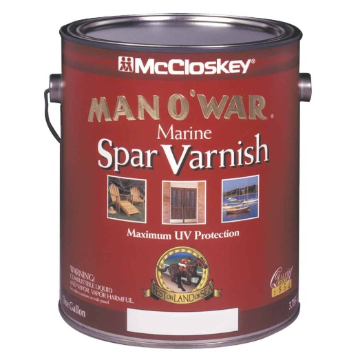 McCloskey Man O'War Semi-Gloss Marine Interior & Exterior Varnish, Gallon