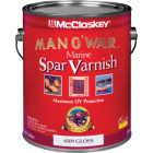 McCloskey Man O'War VOC Gloss Spar Interior & Exterior Varnish, Gallon Image 1