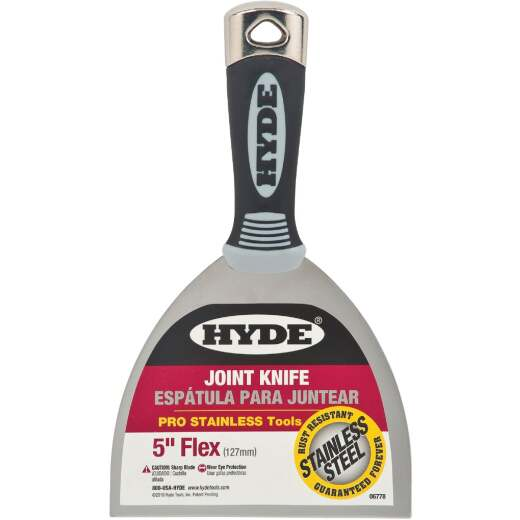 Hyde Pro Stainless 5 In. Flex Joint Knife