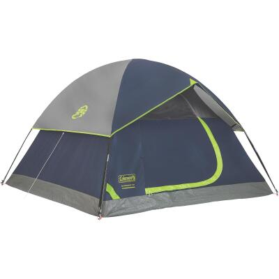 Coleman 3-Person 7 Ft. W. x 7 Ft. L. Dome Tent