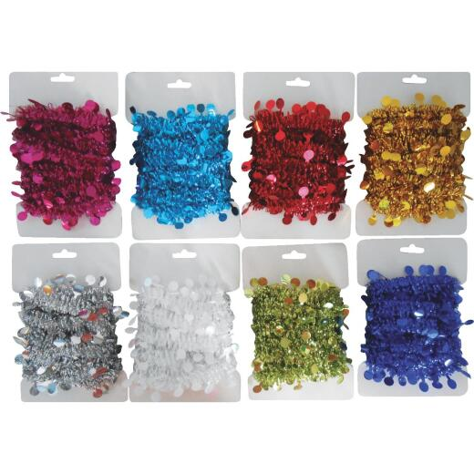 Youngcraft 8 Ft. Assorted Color Package Garland