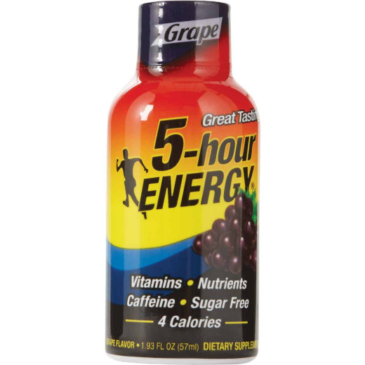 5 Hour Energy 1.93 Oz. Grape Flavor Energy Drink