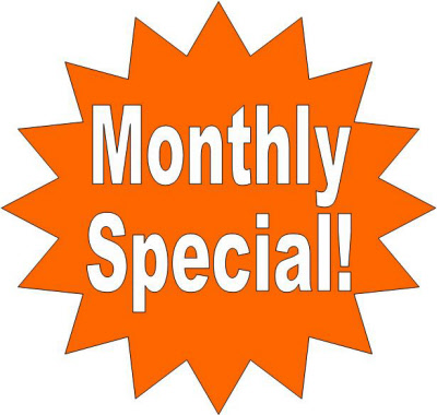 Specials of the Month at Fischers Hardware
